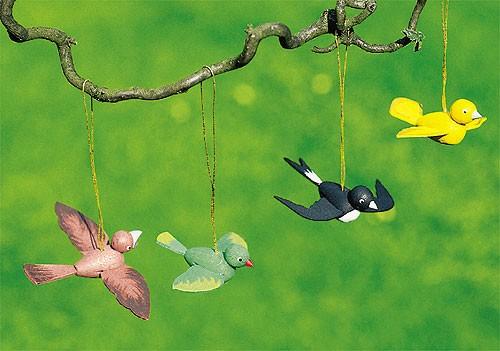 Curtain 4 birds
