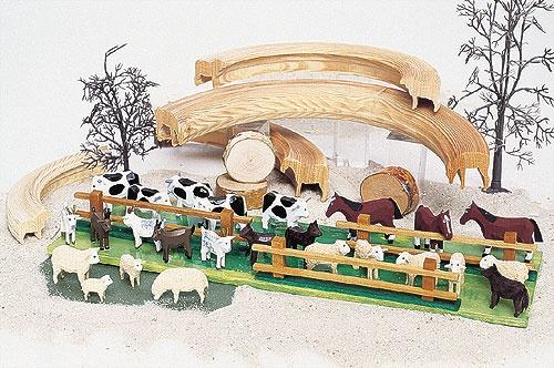 4 Schafe im Beutel - ! Sonderangebot !