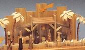 Precious wood Wood Nativity Scenes