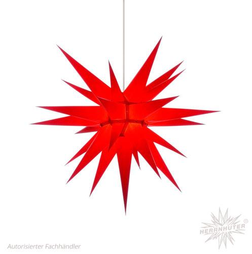 Herrnhuter Stern, Papier 70cm, rot