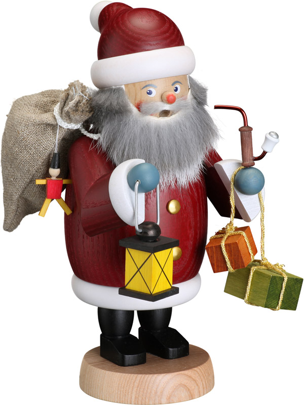 Räucherfigur Weihnachtsmann