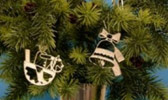 Tree Hangings of Tin