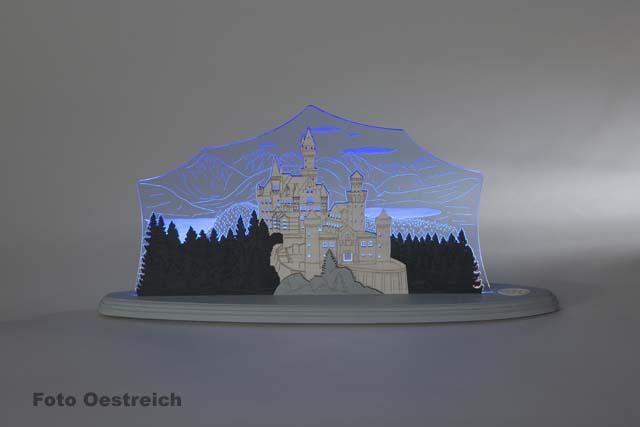 """LED Motivleuchte """"Schloss Neuschwanstein"""""""
