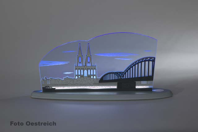 "LED Motivleuchte ""Kölner Dom"""