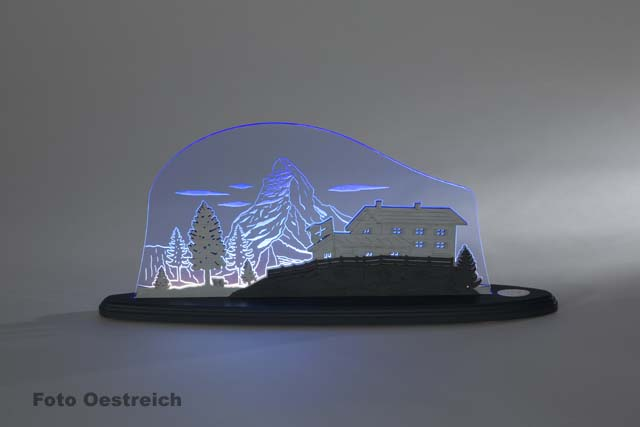 "LED Motivleuchte ""Matterhorn"""