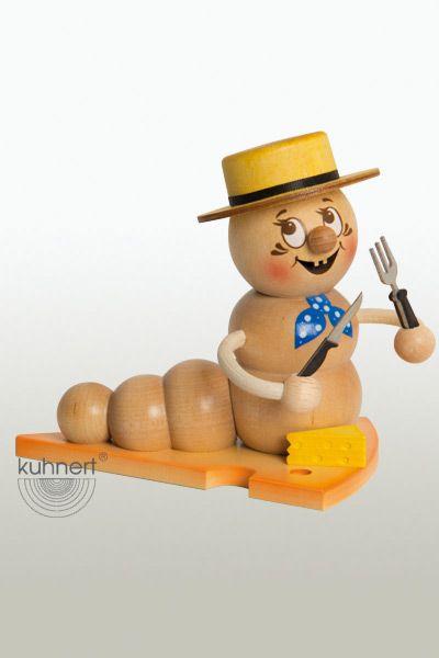 Snowboard-Rudi 13 cm Rauchwurm ca