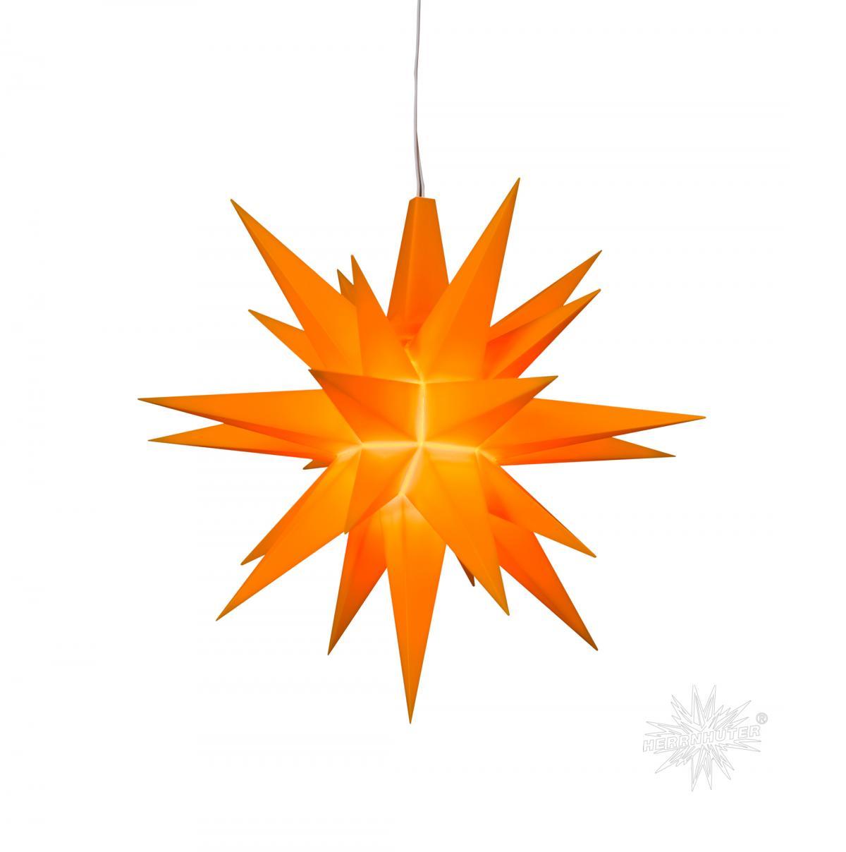 Herrnhuter Stern, Kunststoff 13cm, orange | Sonderedition 2016