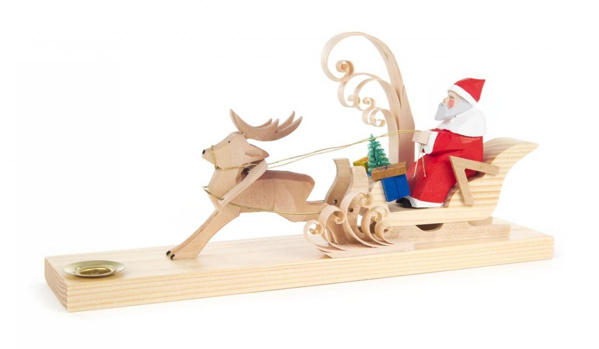 Kerzenhalter Weihnachtsgespann **Neu 2016**