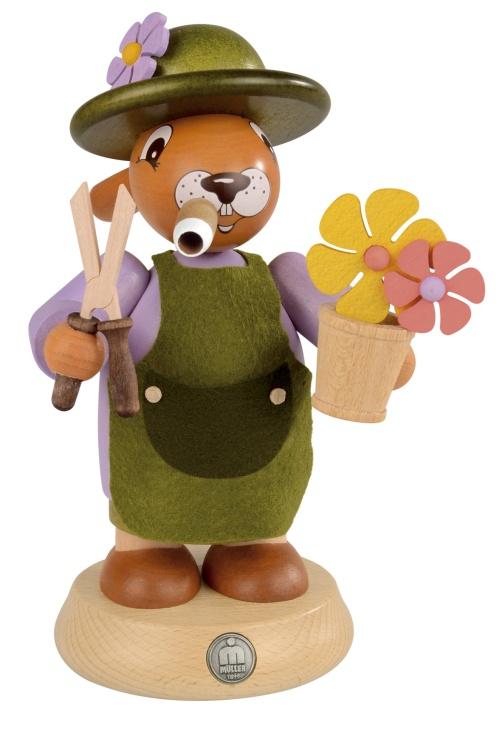 smoker bunny gardener dresses in colors, big