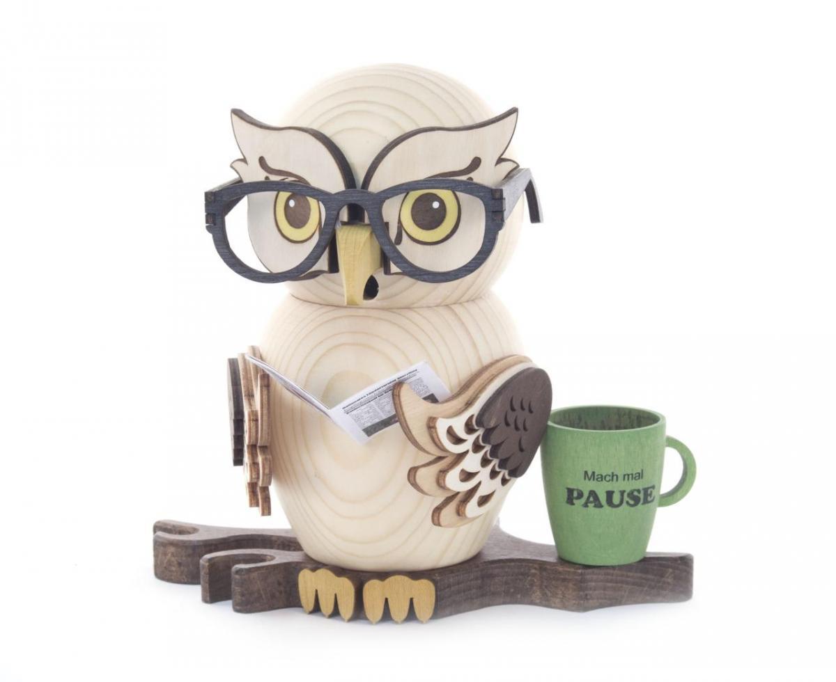 Incense Smoker Eyeglasses Owl