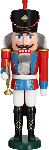 Nutcracker Trumpeter, 39 cm