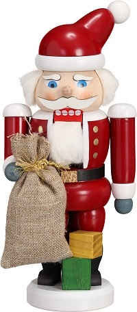 Nutcracker Santa Claus red, 21 cm