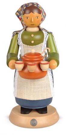 Räucherfrau, Glühweinverkäuferin