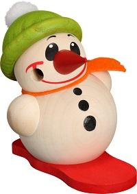 Ballsmoked figure Cool-Man Snowboard & green Hat, 9 cm