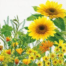 Napkins Yellow meadow