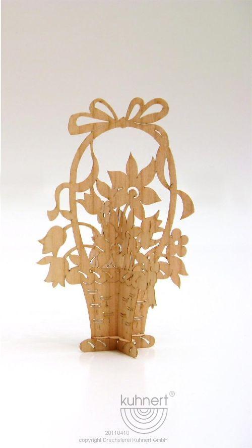 Puzzle card Flower basket