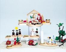 Weihnachtsmotive 4-teilig