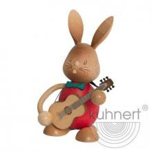 Easter Bunny Stupsi with Guitar