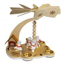 Snowman Pyramid Christmas Bakery