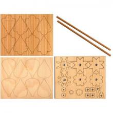 Craft Kit Pinwheel natural, set (2pcs)