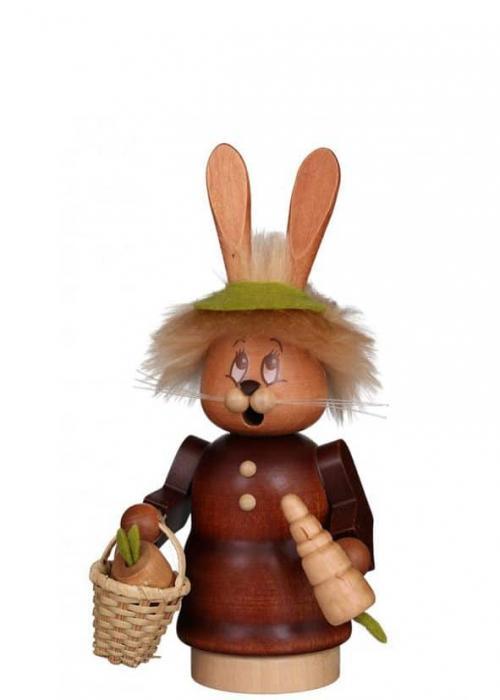 Smoker mini imp bunny woman with basket
