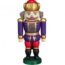 Nutcracker King indigo raspberry, 20cm