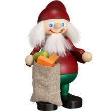 Smoker Christmas saint with sack