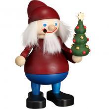 Smoker Christmas saint with tree