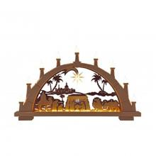 Herrhunter candle arch with miniature star