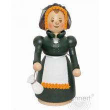 Wooden figure Katharina von Bora, Lutherin