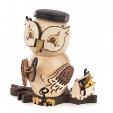 Incense figure owl artisan