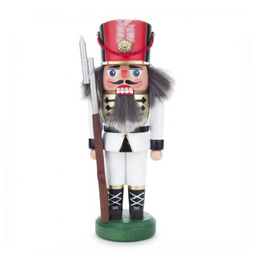 Nutcracker soldier white, 26cm