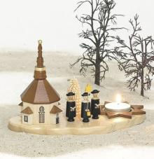 Candlestick carolers for teelights