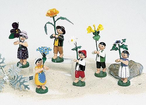 6 Wiesenblumenkinder