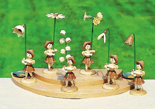 6 Blumenmädchen