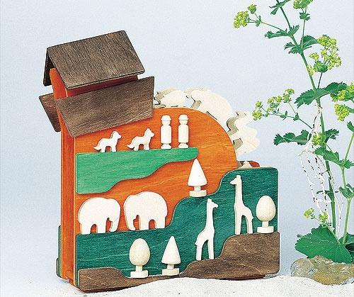 """Spieldose Arche Noah, Melody: """"Brahms Wiegenlied"""", für Kinder"""