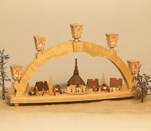 Lightning Arch Christmas market with miniatures
