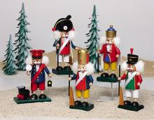 Miniature Nutcracker Prussians
