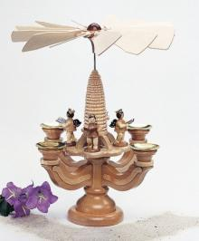 Candlestick pyramid - angels