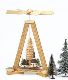 Pyramid Seiffener Dorf, natural