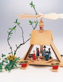 Pyramid cribhouse