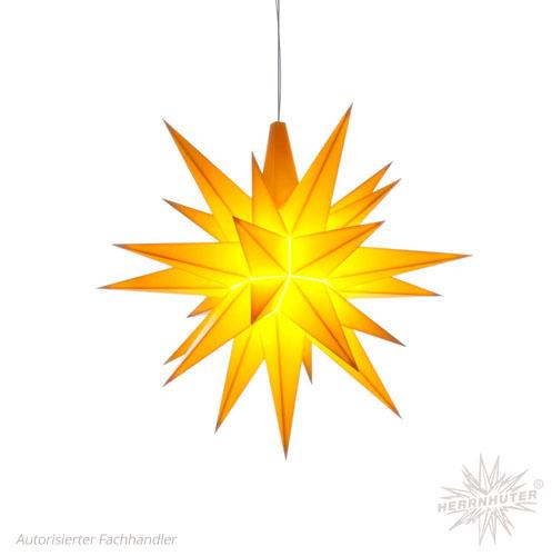 Herrnhuter plastic Star 13cm yellow