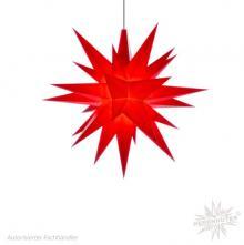 Herrnhuter plastic star 13cm red incl. LED