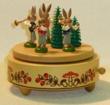 Spieldose Hasenquartett