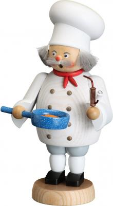 Räucherfigur Koch