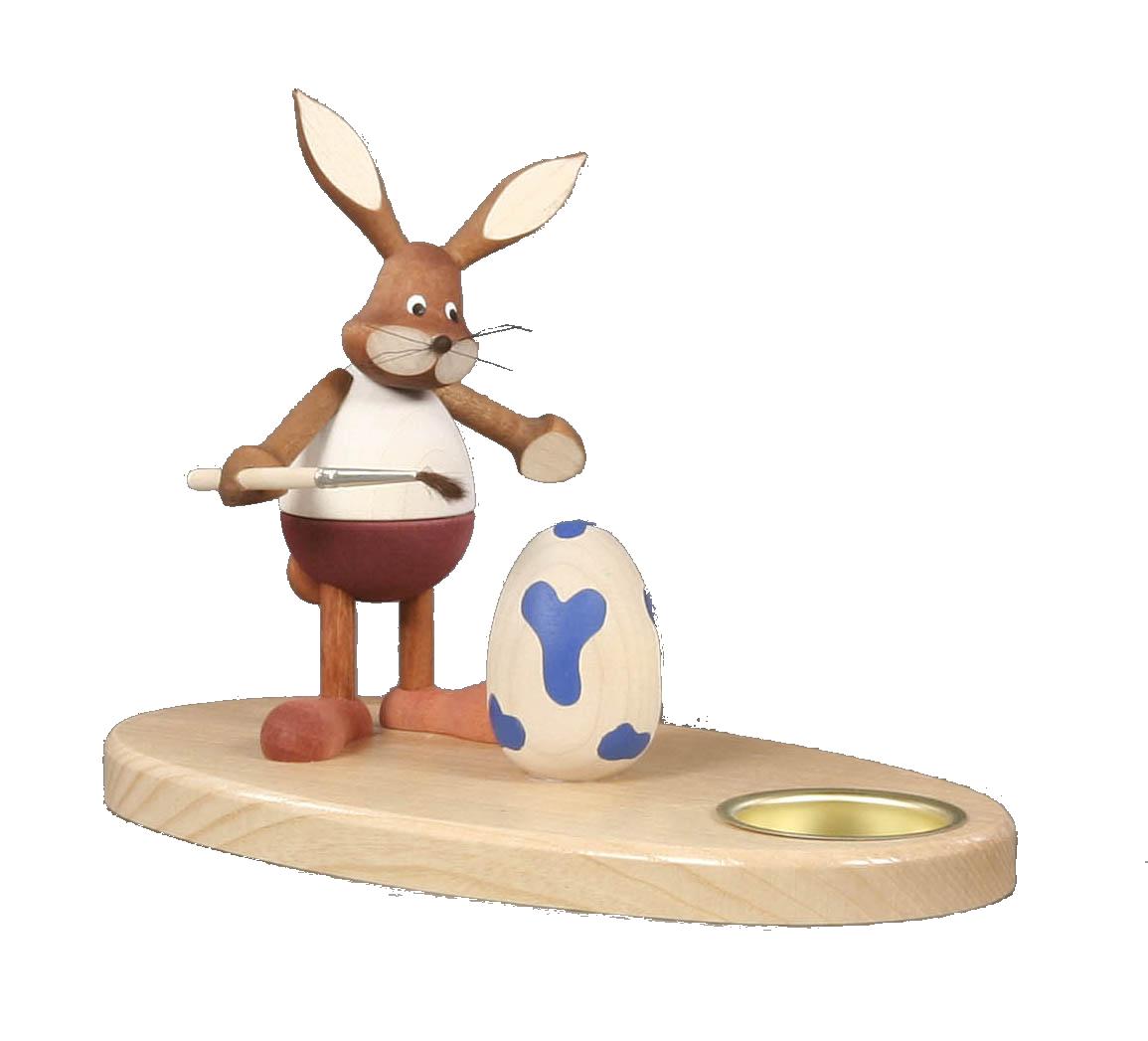 Tealight holder Bunny Painter