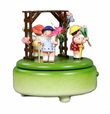 Music Box Flower Children