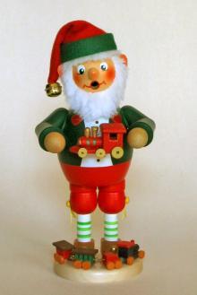 Räuchermann Spielzeugmacher Elf (stehend)