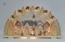 Schwibbogen Advent time, elec. illuminated