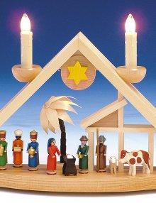 Light Arch Nativity, electr.